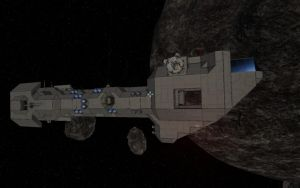 Space Engineers - Freighter Construction Pt.3 by Shroomworks