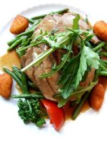 Lamb and Green Beans by PhilipCapet