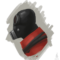 Pyro portrait by Createvi