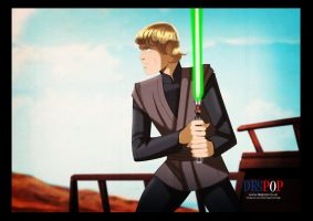 Luke Jedi by DESPOP