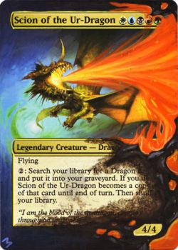Scion of the Ur-Dragon alter by MimiMunster