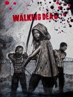 the walking dead  Michone by FDupain