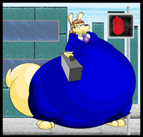 Fat Female Business Roo. by Virus-20