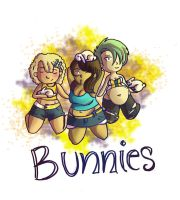 bunnies by miquashi
