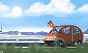 Car by Reikomuffin