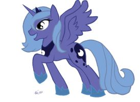 MS Paint Pony test (Luna is awesome...) by scrble567