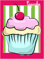 Vector Cupcake by punksafetypin
