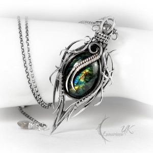 XANCTURION - silver and labradorite by LUNARIEEN