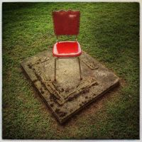 Red chair by jfdupuis