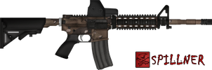 M4 SOPMOD [Camouflaged] by SpillnerLoL