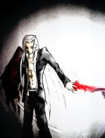 This is the Work of Sephiroth by Reno-s--Brain