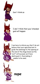 verbose meme: lemmings touch by HiImFromTransformice