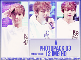V (BTS) - PHOTOPACK#03 by JeffvinyTwilight