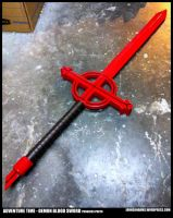Adventure Time - Demon Blood Sword Progress 2/2 by JohnsonArms