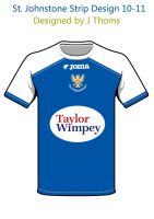 St. Johnstone Home sleeves by BackwardsAngel