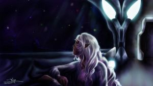 Thoughtful Princess by Miup