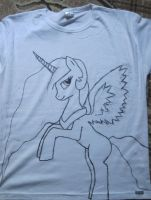 Blouse with Celestia (WiP) by HoryPL