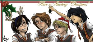 HP: Have a Shoeboxy Christmas by SanctusRequiem