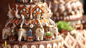 Sukhothai's kratong contest by LuceLucrase