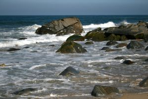 rocky coast 02. by greenleaf-stock