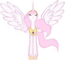 Regal Young Celestia by RussianKolz