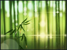 Bamboo forest by GaudiBuendia