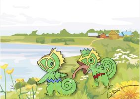Kecleon Camouflage by FraankBiebs