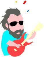 Jerry Garcia Clip Art by EverythingDEAD