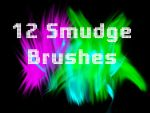 12 Smudge Brushes Set 2 by mcrvampire92