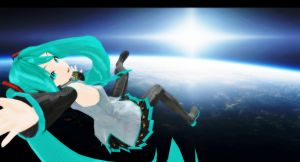 MMD - Miku Space (Edited Ver.) by MikuHatsune01