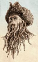 Davy Jones sketch by dominiquefam