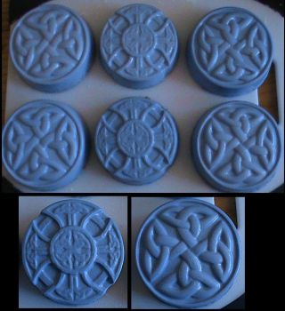 Celtic Lavender Soap by Yonaka-Yamako