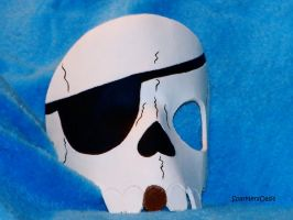 Pirate Skull Mask by SparklersOasis