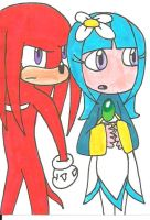 Galaxina with Knuckles by cmara