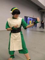 Toph cosplay 2 by Shiroyuki9