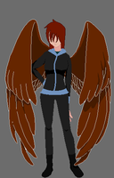 Amber- Maximum Ride OC by KarateCat211