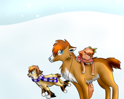 Contest Entry~ Winter wonderland? by Skycloud-Nya