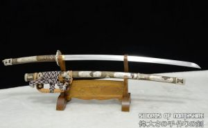 Antiqued High Speed T10 Steel Japanese Tachi 6 by swordsofnorthshire