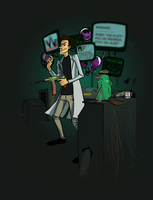 Perry and Doof by Loarfy