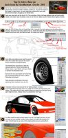 How To Vector A Race Car by gridart