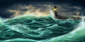 Rough Sea by SomberNocturna