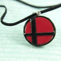 Smash symbol necklace by TrenoNights