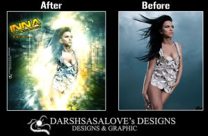 Inna Before and After by DARSHSASALOVE