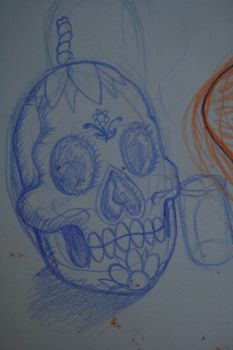 sugar skull by THERESIN