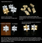 Papercraft Star Puzzle V2 by Collecter128