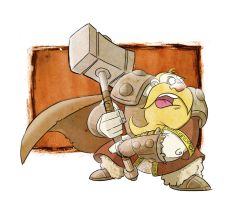 Dorf with Hammer by Honez