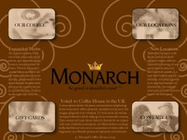 Monarch Coffee Website by Bakageta-Koto