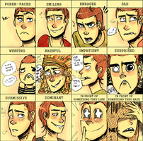 jonsi - expression meme by MisoNoodles
