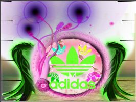 adidas vector by hedgiee
