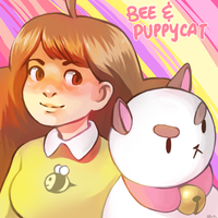 Bee and Puppycat by AlisaTheArtiste